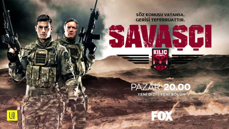 Savaşçı - Warrior TV series is on Fox TV every Sunday at 20.00