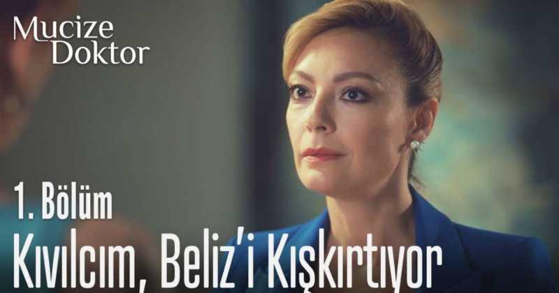 Ozge Ozder (acted as Kıvılcım in Miracle Doctor) is the stepmother of Beliz