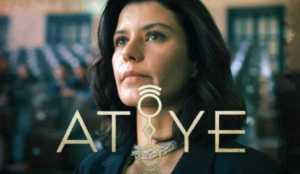 Beren Saat is acting as Atiye in Gift Turkish original Netflix series