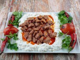 Ali Nazik Kebab is one of the best kebab of Turkish cuisine.