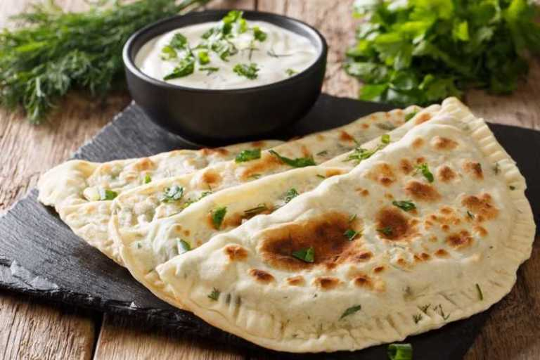 Special Flavor of Turkish Cuisine: Gözleme — Anatolian Flat Breads Stuffed With Spinach or Cheese