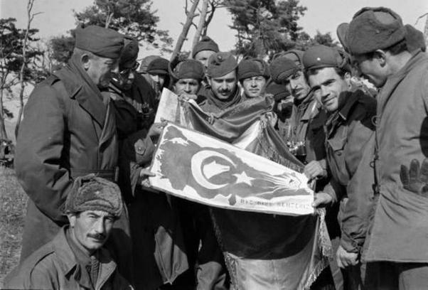 Turkish soldiers in the Korean War.