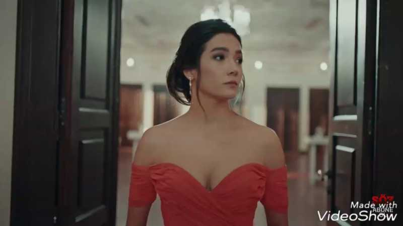 Medcezir - The Tide was the first TV series of Aybüke Pusat.