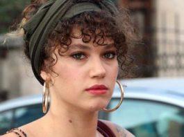 The 24-year-old beautiful Turkish actress Melisa Şenolsun.
