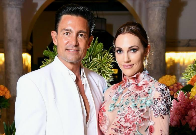 Meryem Uzerli and world-famous Mexican actor Fernando Colunga.