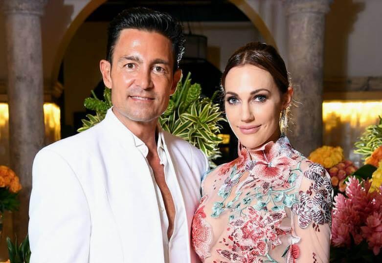 Meryem Üzerli and world-famous Mexican actor Fernando Colunga.