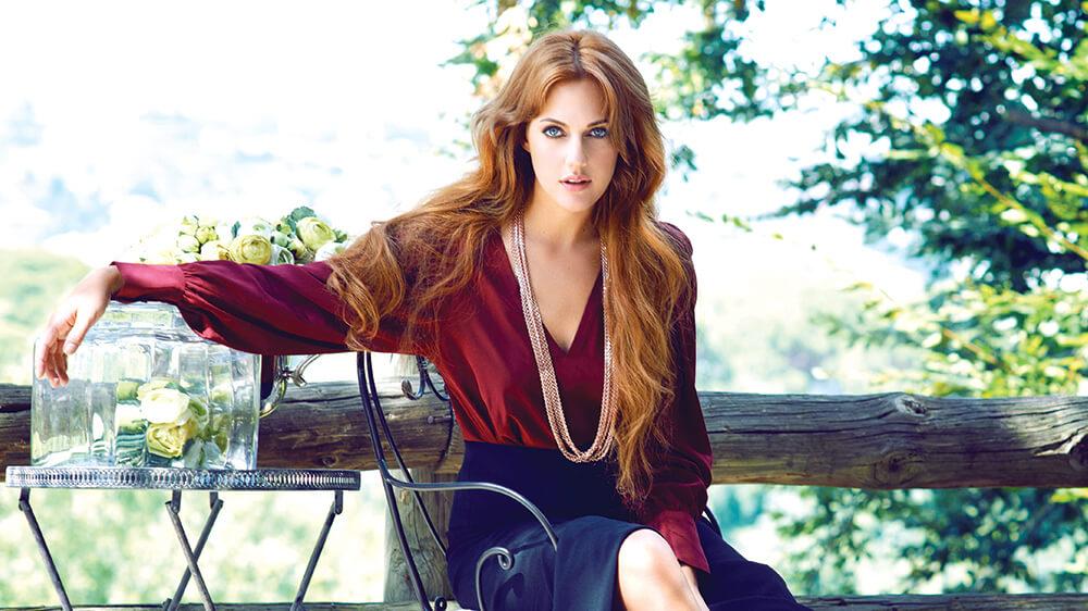 The German-Turkish Meryem Uzerli and her stunning beauty.