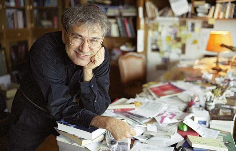 Nobel Laureate Turkish Writer Orhan Pamuk Met His Readers in Istanbul