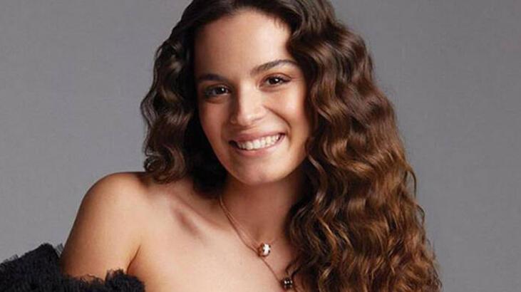 The young and beautiful Turkish actress Aslı Bekiroğlu.