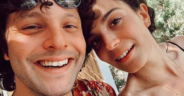 Aslı Bekiroğlu and her boyfriend Can Koçkan.