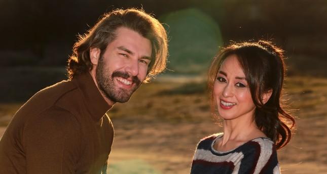 A scene from Eve Dönüş - Return to Home Turkish feature film.