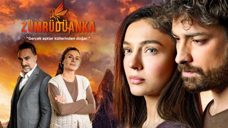 Zümrüdüanka — Phoenix Turkish TV Series is a love story reborn from its ashes.