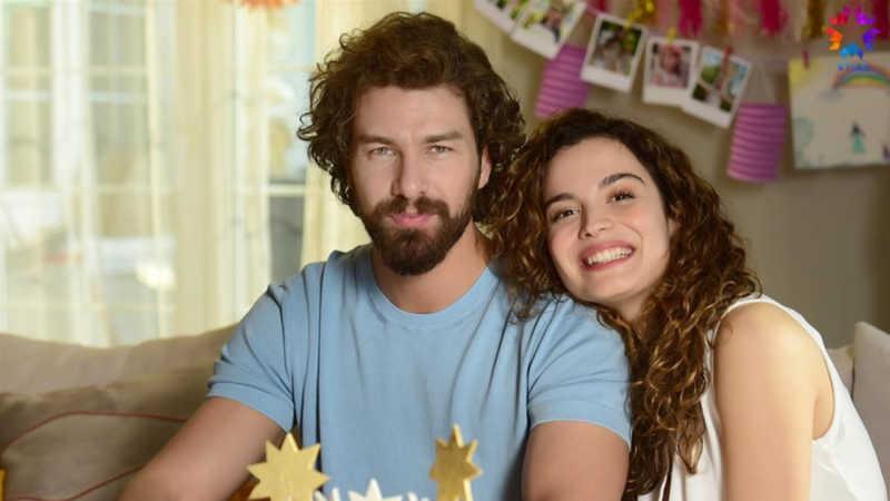 Furkan Palalı and Aslı Bekiroğlu in Benim Tatlı Yalanım - My Sweet Lie.