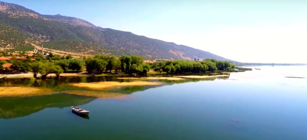 Işıklı Göl (Lightened Lake) is a freshwater located on Çivril plain in Denizli.