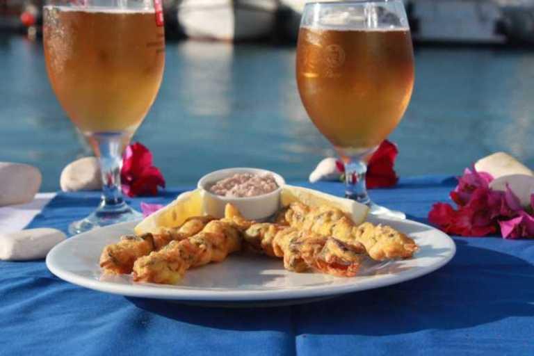 "Turkish Fried Mussels With 'Tarator' Sauce: ""Midye Tava"""