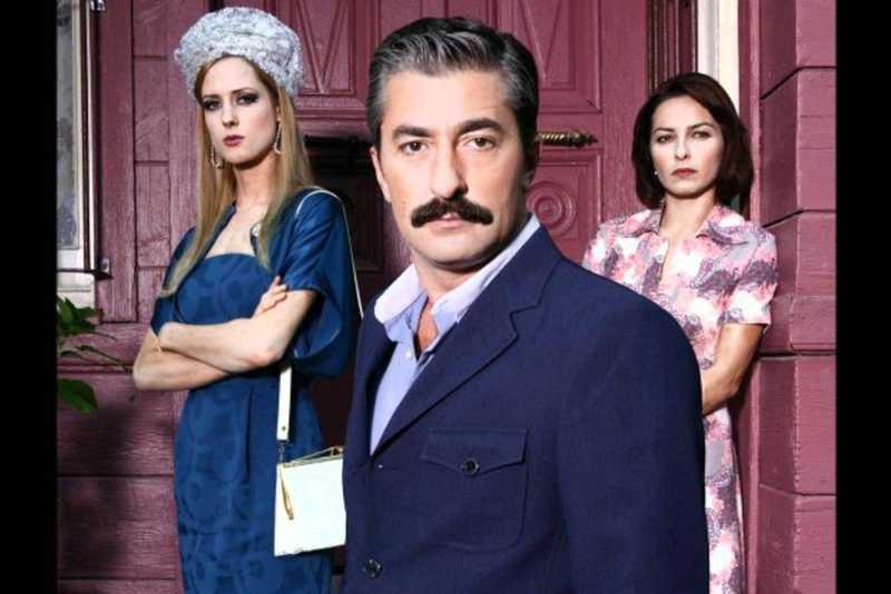 Erkan Petekkaya (as Ali), Ayça Bingöl (as Cemile) and Wilma Elles (as Caroline).