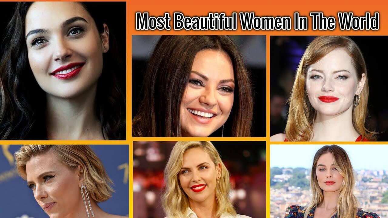 100 Most Beautiful Women List of 2020.
