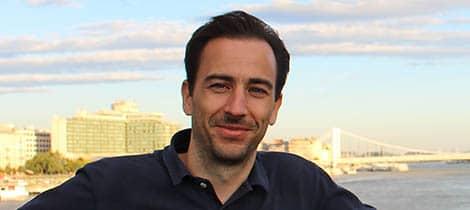 The Hungarian virtual reconstructionist Adam Nemeth.