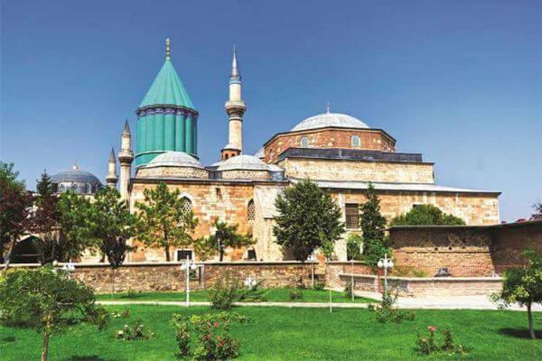 Konya Mevlana Museum.