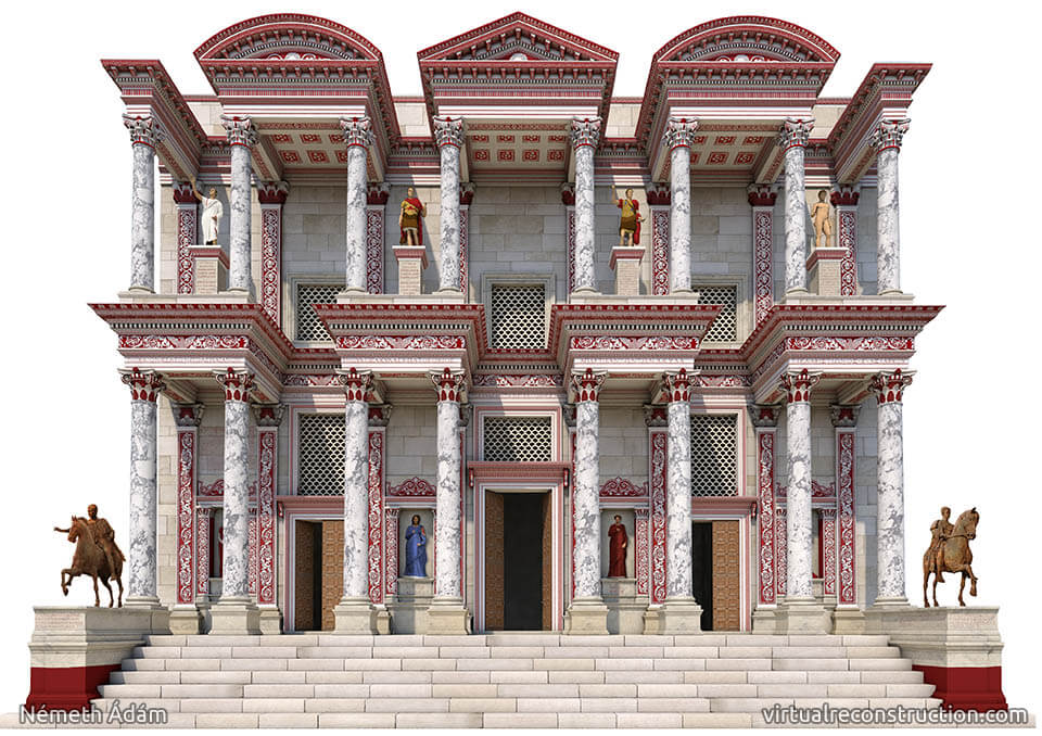 Visual Reconstruction of Ephesus Ancient City. (Image Credit: http://virtualreconstruction.com/Ephesus)