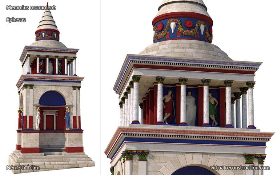 Memmius monument then