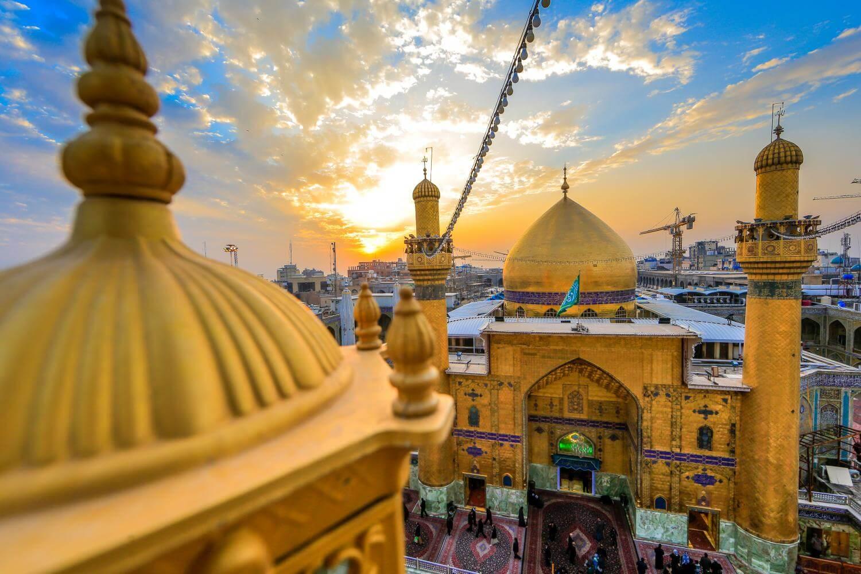 Holy sites of Islam: Shrine of Imam Ali (Image Credit-Imamali)