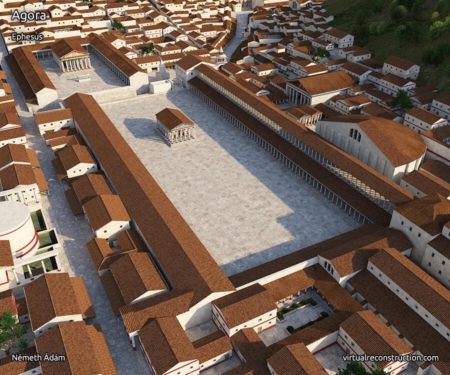 State Agora in Ephesus.