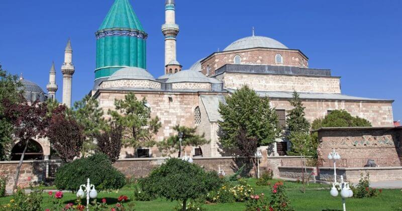 The peaceful city of Mevlana-Konya.