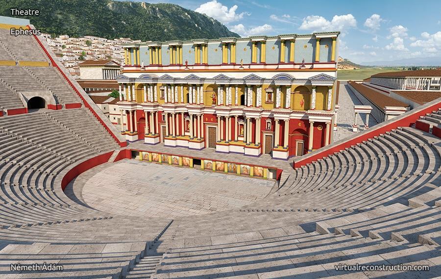 3D Animation of Ephesus: Theatre of Ephesus