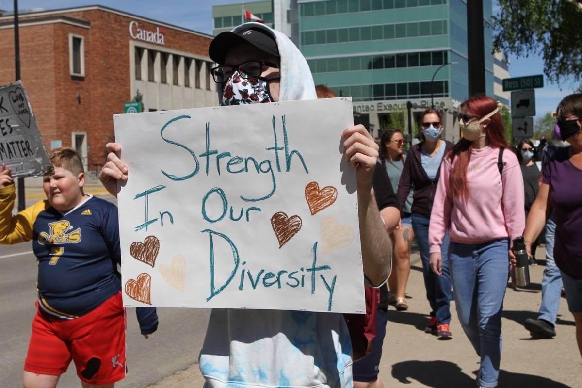 Diversity brings creativity, which brings power. (Image Credit-Red Deer Advocate)