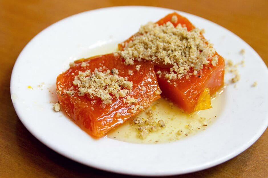 Yummy Turkish Candied Pumpkin Dessert. (Image Credit-Yemek.com)