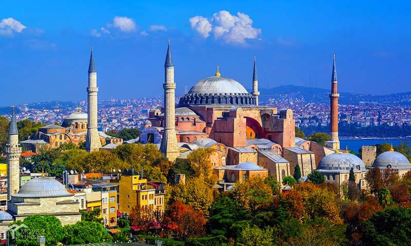 Hagia Sophia has been standing at the heart of Istanbul for 1.500 hundred years. (Image Credit-Move 2 Turkey)