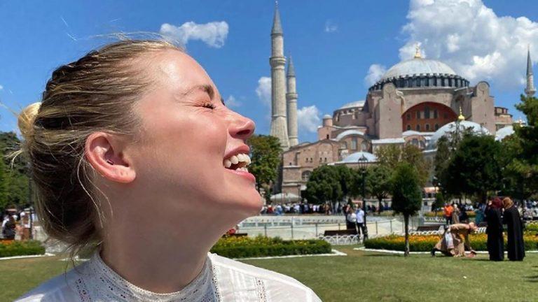 Amber Heard's Istanbul Visit Turned Celebrity Agenda Upside Down
