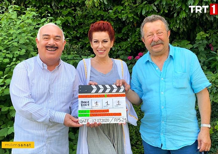 Master actors of Turkish televisions- Güven Kıraç, İpek Tuzcuoğlu and Erkan Can.