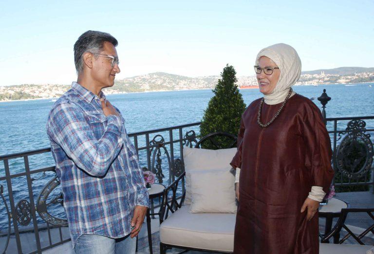 World Famous Bollywood Star Amir Khan Meets Turkish First Lady Emine Erdoğan