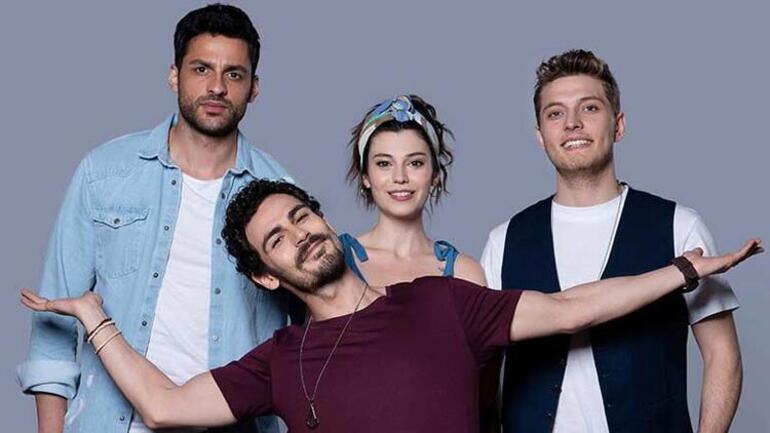 Young talents of Gençliğim Eyvah Turkish comedy series.