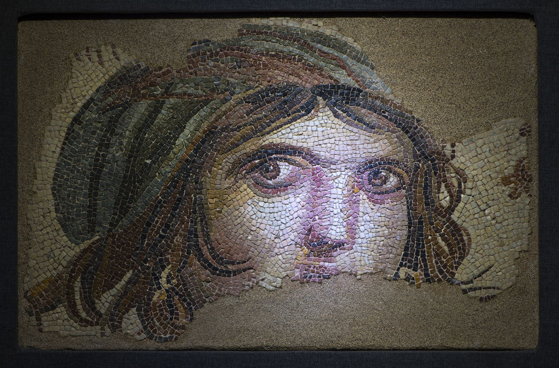 Gypsy Girl in Zeugma Museum. (Image Credit-Go Turkey)
