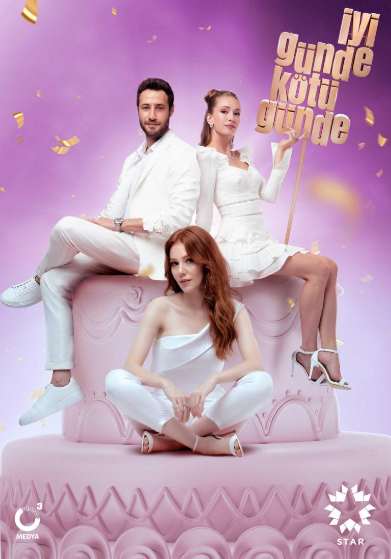 "Turkish Actress Elçin Sangu is Finally Back on TV with ""İyi Günde Kötü Günde"" Rom-Com"