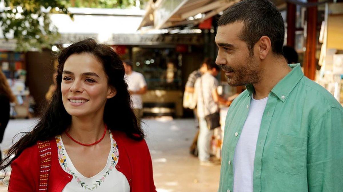 Özge Özpirinçci and Caner Cindoruk in Kadın (Woman) Turkish TV drama.