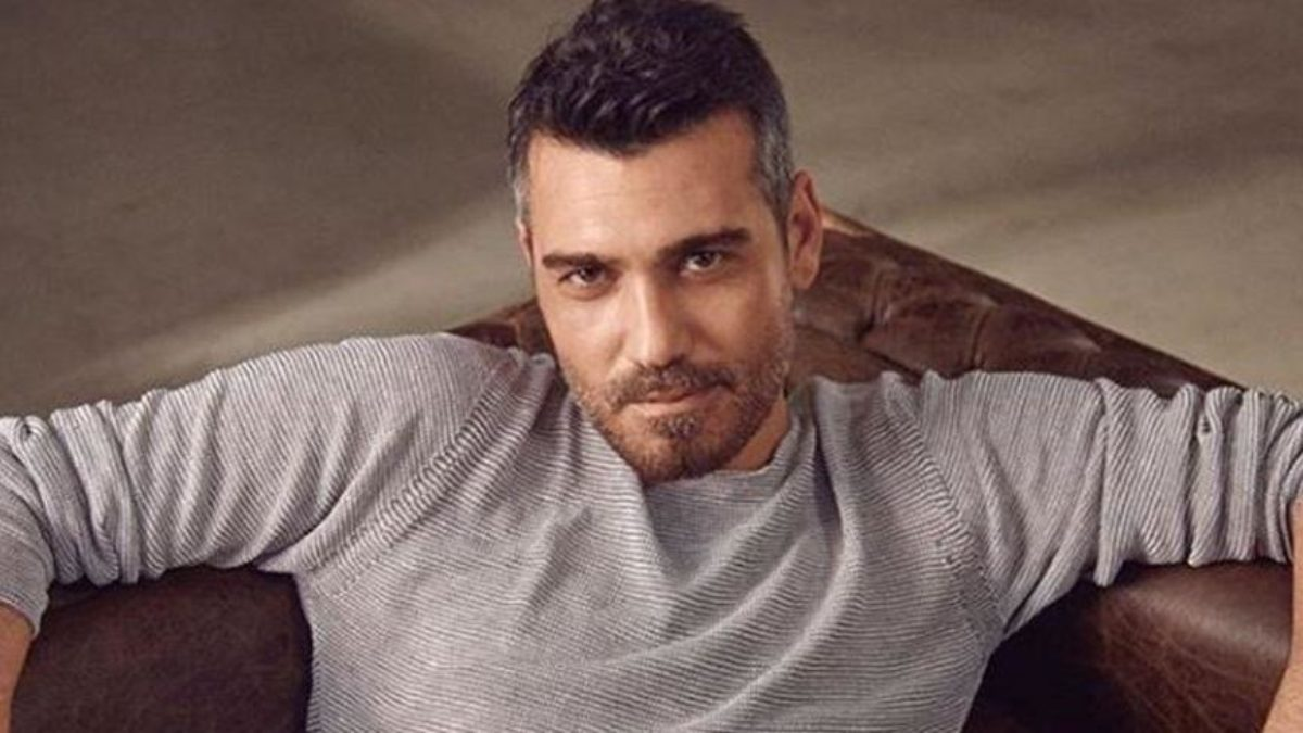 The successful Turkish actor Caner Cindoruk.