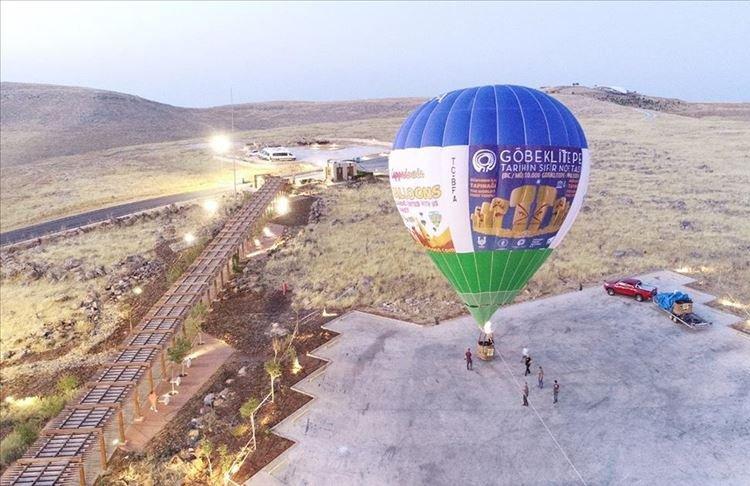 Air Balloon Rides starts over Göbeklitepe (Image Credit-Bianet)