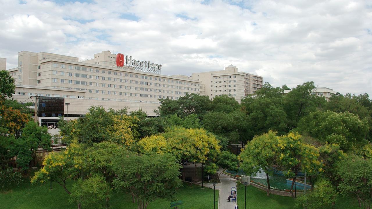 Another prestigious university in Ankara, Hacettepe University.