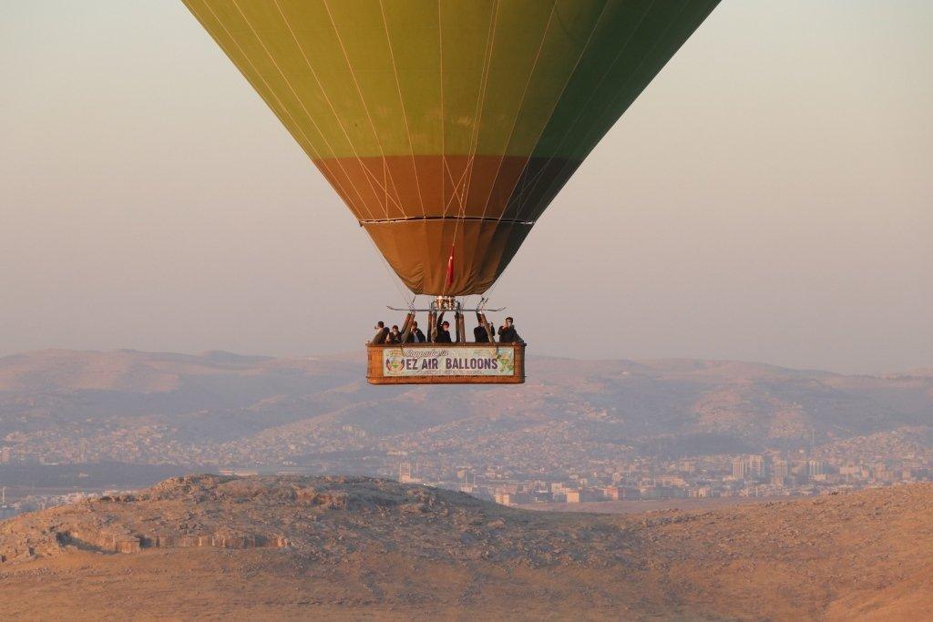 Hot air balloon rides have already started in Turkey's southeastern province Şanlıurfa