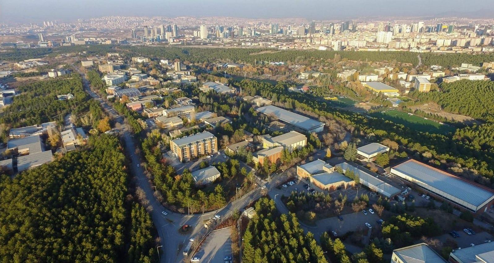 METU (Middle East Technical University) Campus.