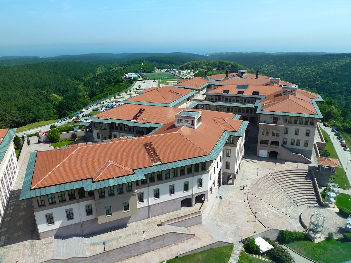 One of the most prestigious universities in Turkey, Koç University.