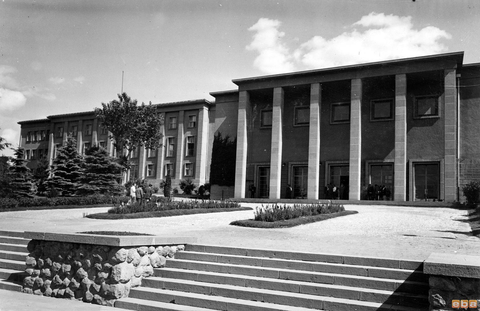 The first university of the Republic of Turkey, Ankara University.