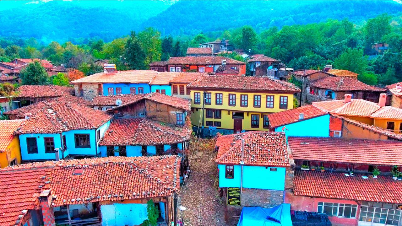 Cumalıkızık is a well-preserved historical Ottoman village in Bursa