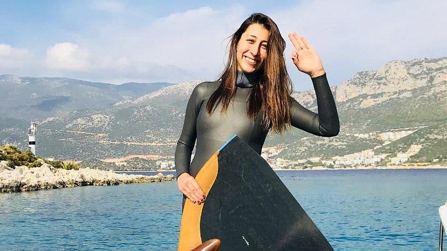 National athlete Fatma Uruk is 32 years old