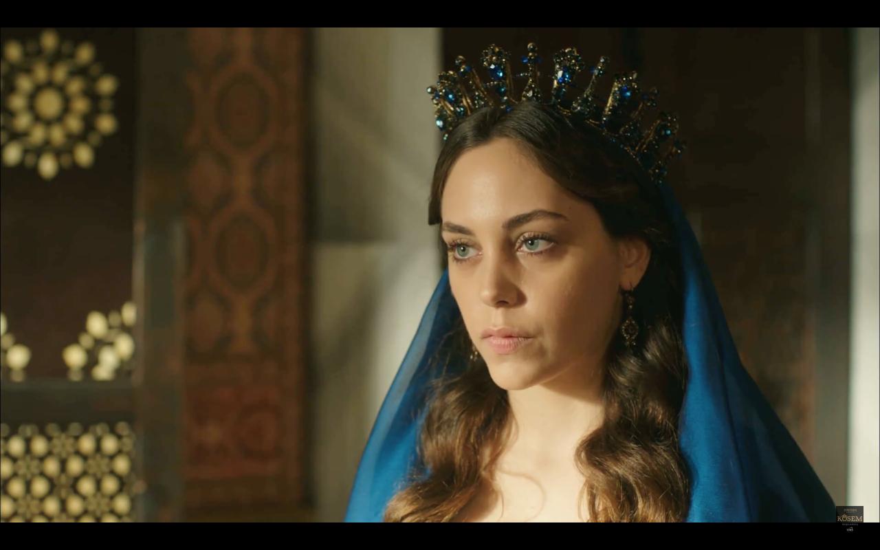 Öykü Karayel acted as Dilruba Sultan in Magnificent Century-Kösem