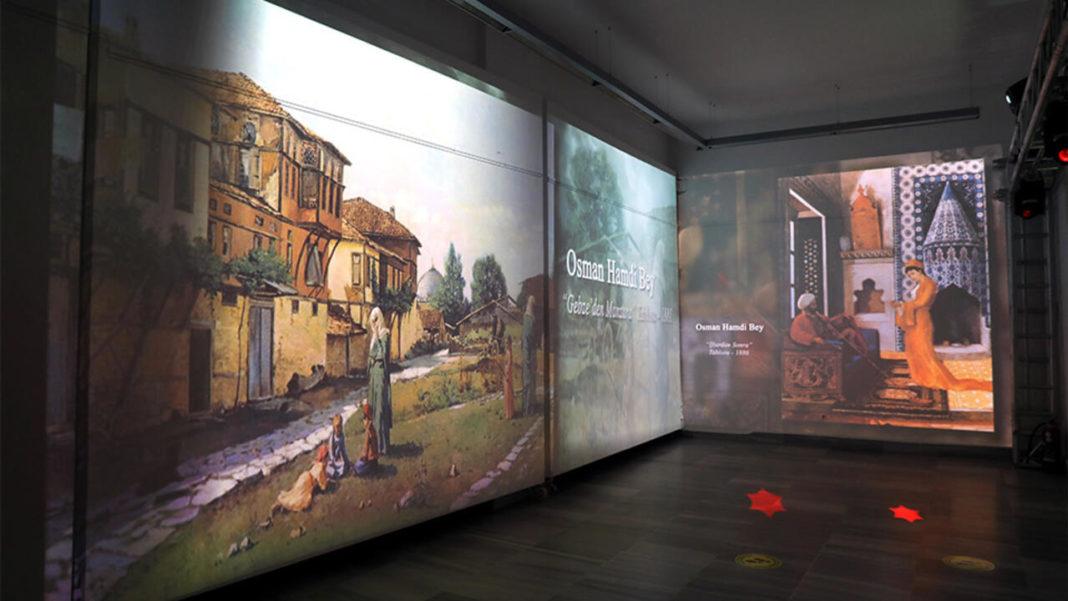 Osman Hamdi Bey exhibition in Istanbul (Image Credit-CNN Turk)